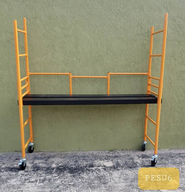 6' MINI STEP UP FOLDING SCAFFOLD - All Purpose Unit