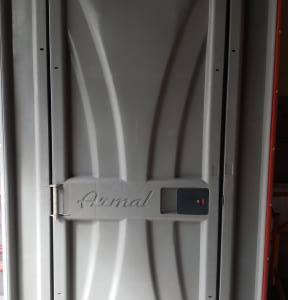 PORTABLE TOILET KNOCK DOWN - Portable Toilet - Able Scaffold